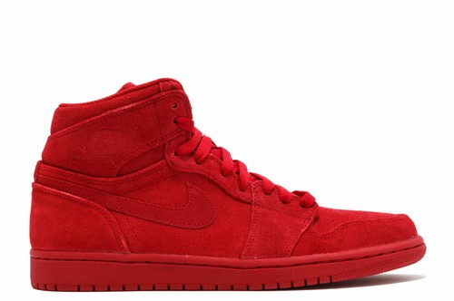 Air Jordan 1 Retro High Red Suede