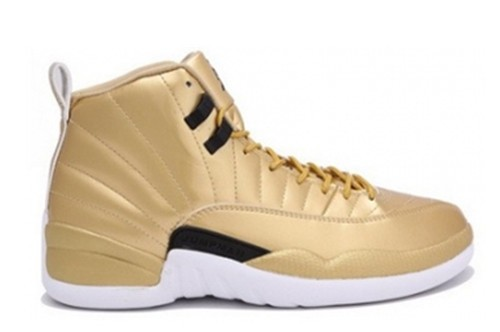 Air Jordan 12 Pinnacle Gold