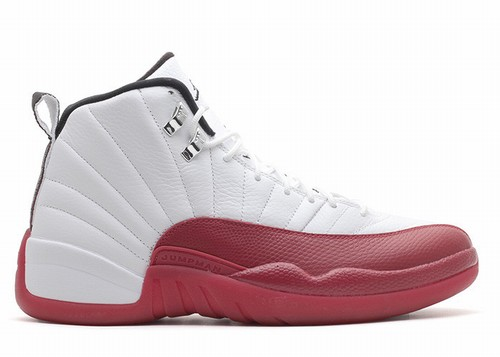 Air Jordan 12 Retro White Red