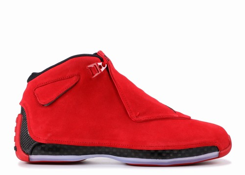 Air Jordan 18 Retro Toro Gym Red