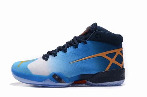 Air Jordan 30 Blue Black Orange