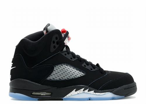 Air Jordan 5 Retro OG Black Metallic