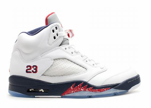 Air Jordan 5 White Obsidian
