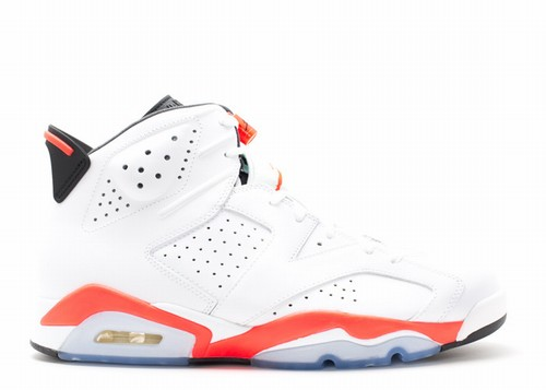 Air Jordan 6 Retro White Varsity Red