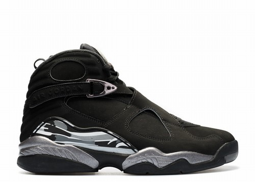 Air Jordan 8 Retro Black Chrome