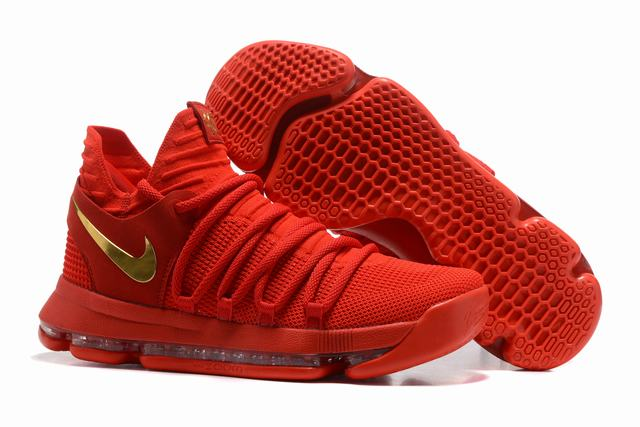 Nike KD 10 Shoes China Red