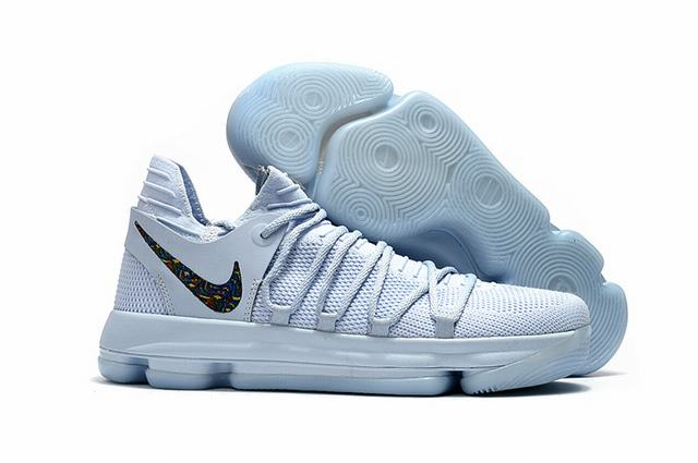 Nike KD 10 Shoes Ice Blue