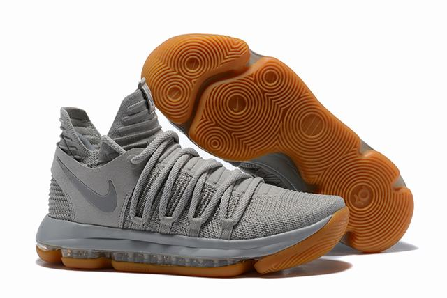Nike KD 10 Shoes Light Grey