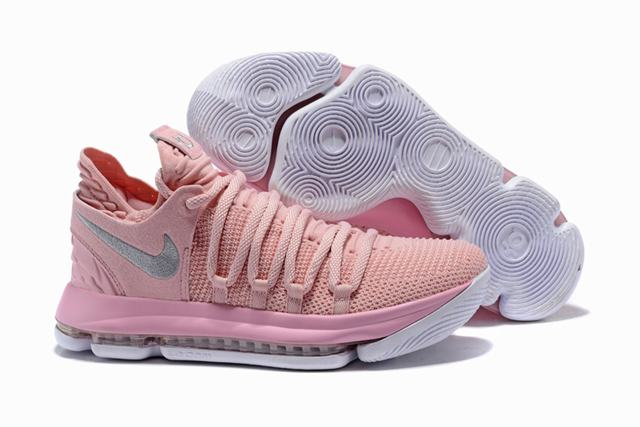 Nike KD 10 Shoes Pink