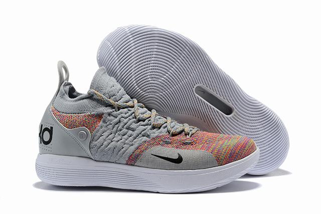 Nike KD 11 Shoes Grey Colors