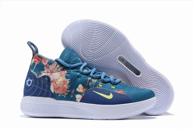 Nike KD 11 Shoes Rose Blue