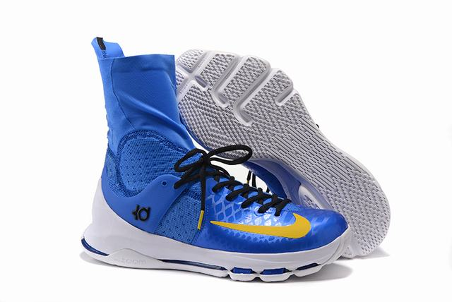 Nike KD 8 Shoes Elite Royal Blue White