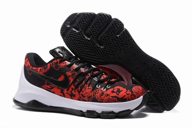 Nike KD 8 Shoes Low Black Rose