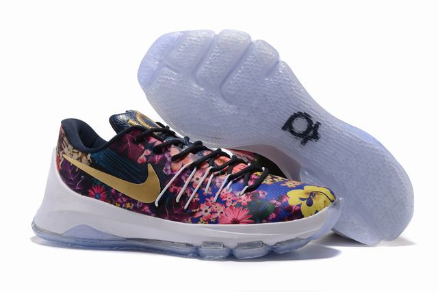 Nike KD 8 Shoes Low Flowers and Plants