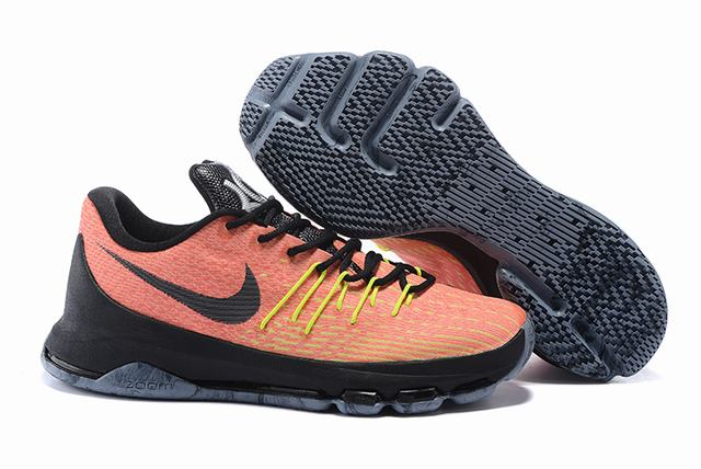 Nike KD 8 Shoes Low Orange Black