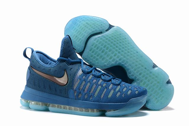 Nike KD 9 Shoes Light Blue