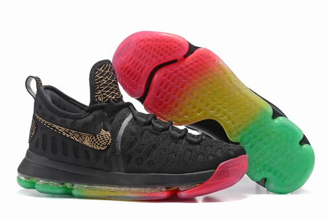 Nike KD 9 Shoes Rainbow