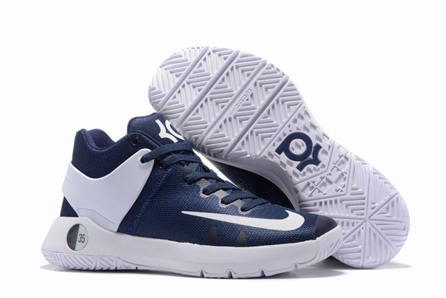 Nike KD Trey 5 Shoes Dark Blue White