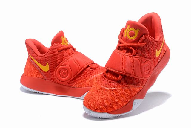 Nike KD Trey 5 VI Weave Shoes Orange White Yellow