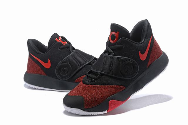 Nike KD Trey 5 VI Shoes Black Red