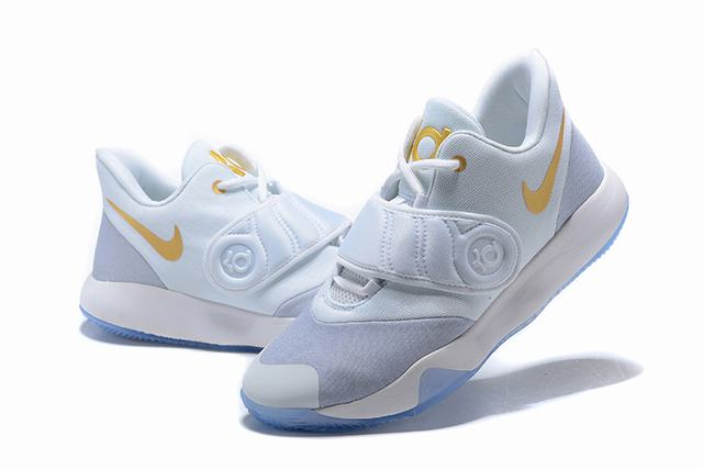 Nike KD Trey 5 VI Shoes White Gold