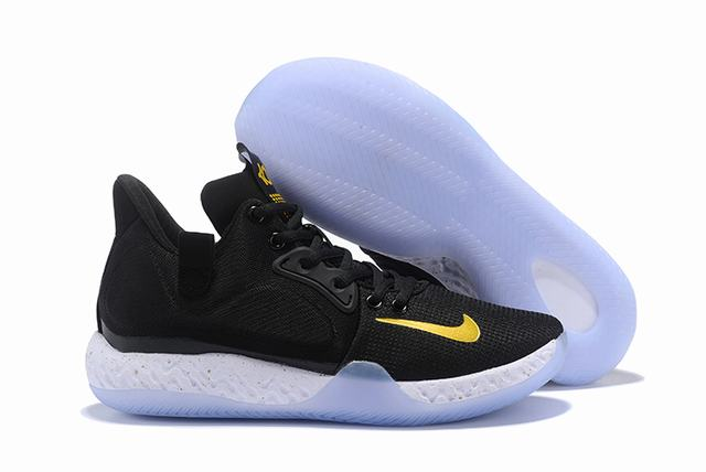Nike KD Trey 6 Shoes Black Gold