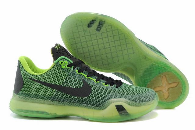 Kobe 10 Shoes Low Army Green Black