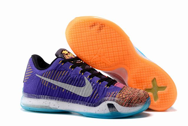 Kobe 10 Shoes Low Cool