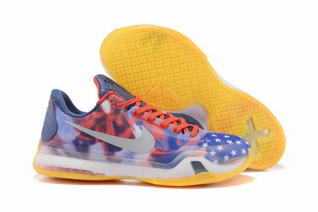 Kobe 10 Shoes Low Independence Day
