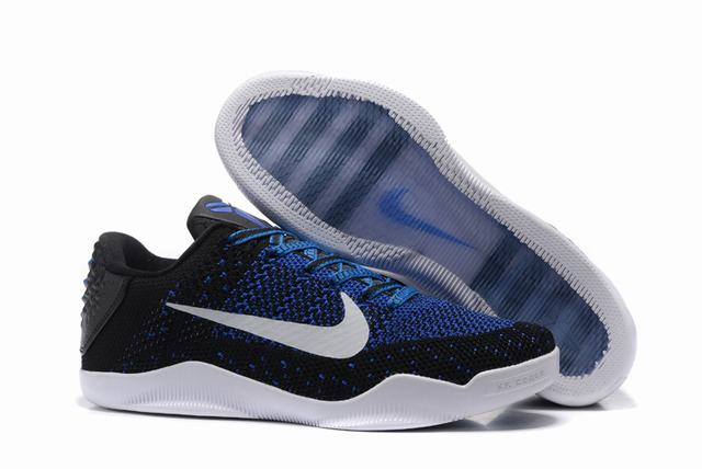 Kobe 11 Shoes Black Blue