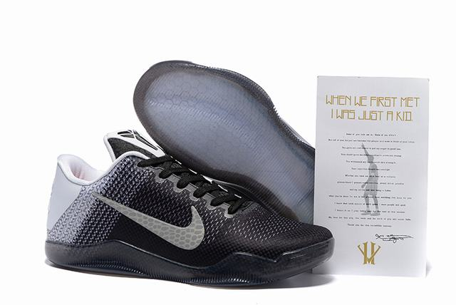 Kobe 11 Shoes Black Grey