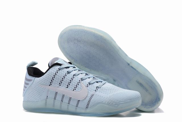 Kobe 11 Shoes Black Mamba White
