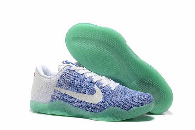Kobe 11 Shoes Blue White