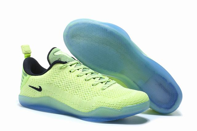 Kobe 11 Shoes Fluorescent Green