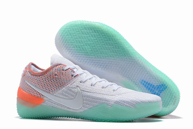 Nike Kobe 360 Shoes White Blue Colors