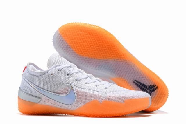 Nike Kobe 360 Shoes White Orange