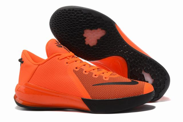 Kobe Venom 6 Shoes Orange Black