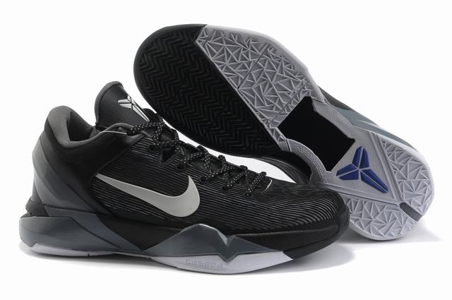 Kobe 7 Shoes Black White