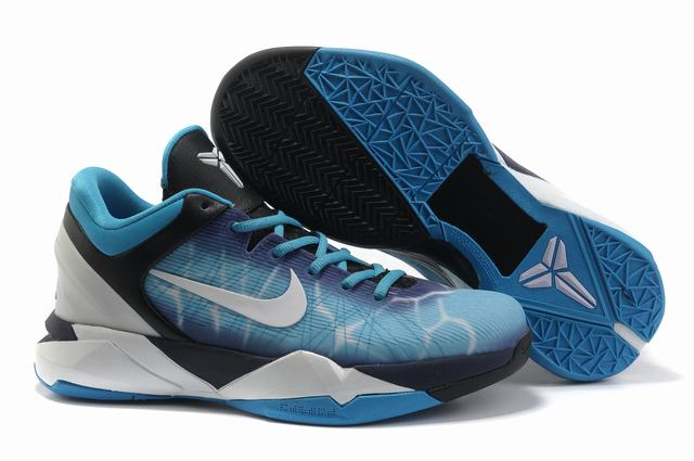 Kobe 7 Shoes Moon Black Blue