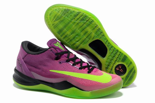 Kobe 8 Shoes Cherry Red Green