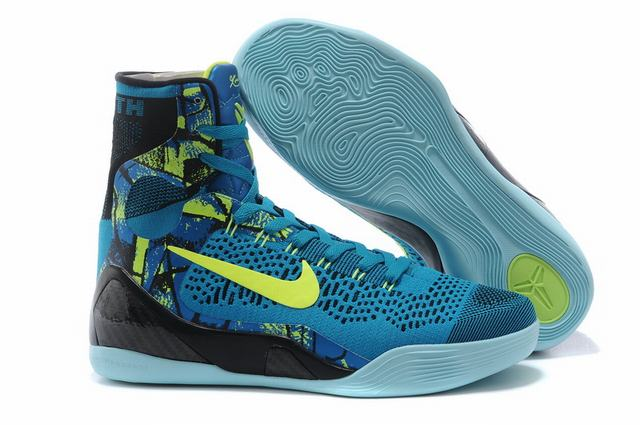 Kobe 9 Shoes Elite Light Blue Green