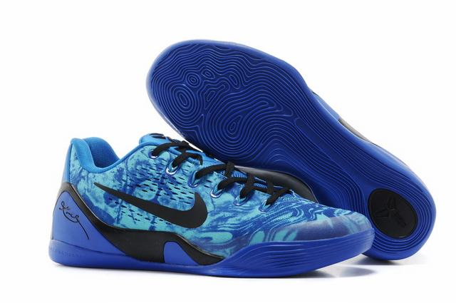 Kobe 9 Shoes Low Royal Blue Black