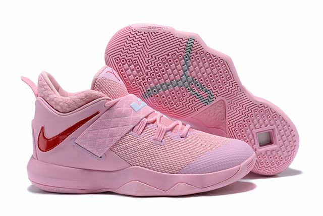 Nike Lebron James Ambassador 10 Shoes Pink Red