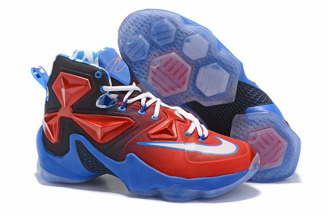 Nike Lebron James 13 Shoes Captain America