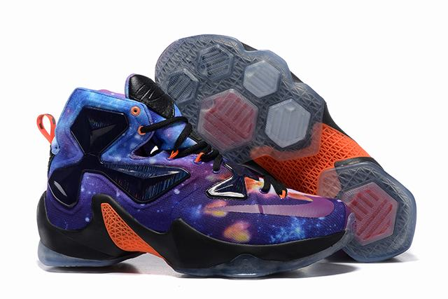 Nike Lebron James 13 Shoes Starry Sky
