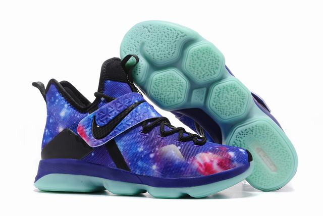 Nike Lebron James 14 Shoes Galaxy Satellite