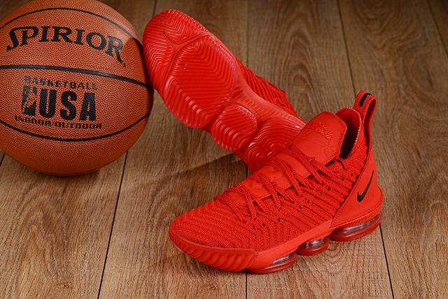 Nike Lebron James 16 Air Cushion Shoes China Red