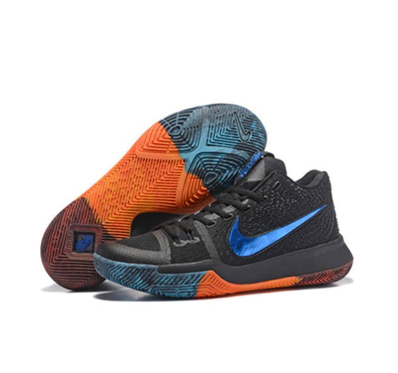 Nike Kyrie Irving Shoes 3 blue black orange