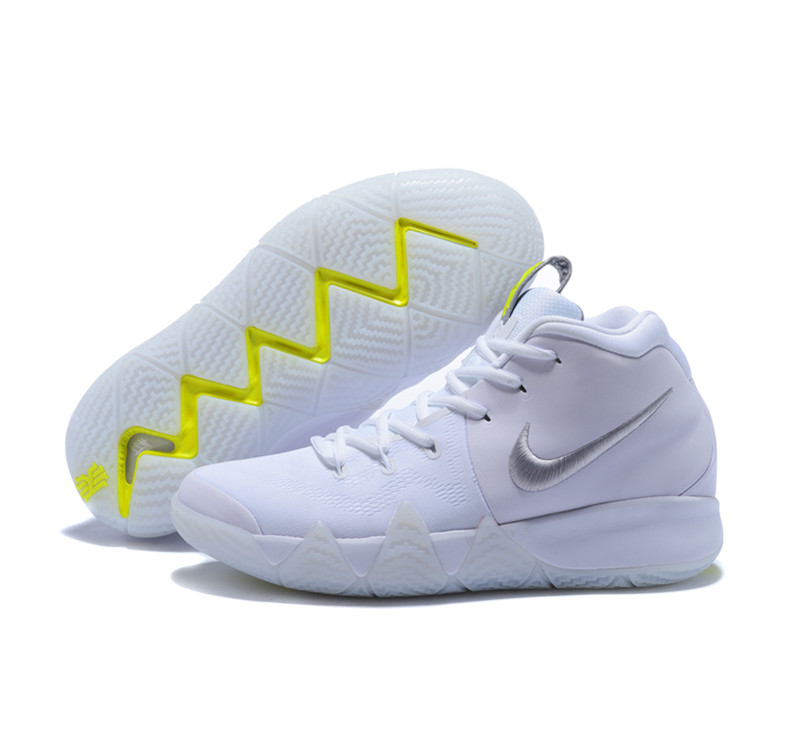 New Nike Kyire 4 White Yellow