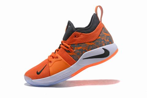 Nike PG 2 orange red black